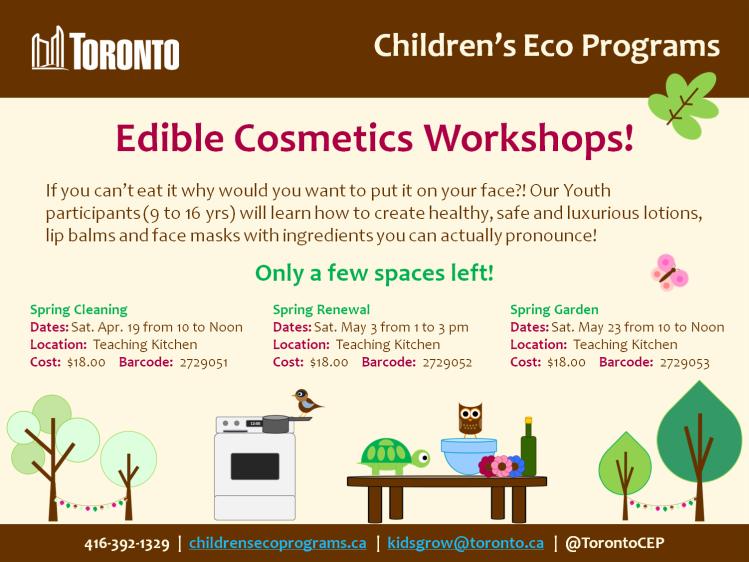 Edible Cosmetics